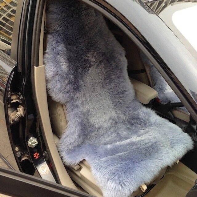 Накидка на сиденье автомобиля из натуральной овчины