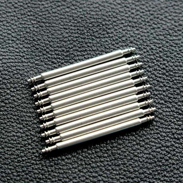 20Pcs To 18MM/20MM/22MM/24MM/26mm Watch Band Spring Bars Strap Link Pins Bar Rem