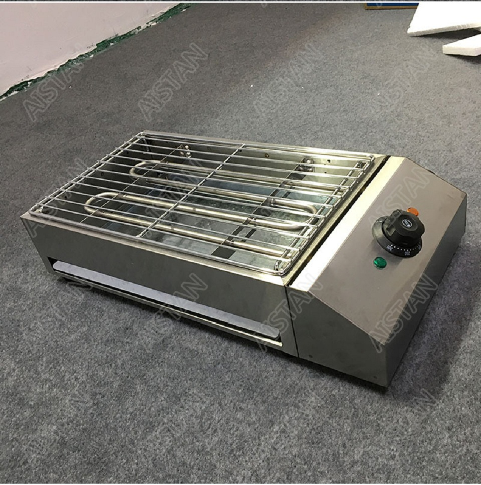 EB280 Electric Smokeless Barbecue Oven Grill for bbq machinery Stainless Steel High Power 18