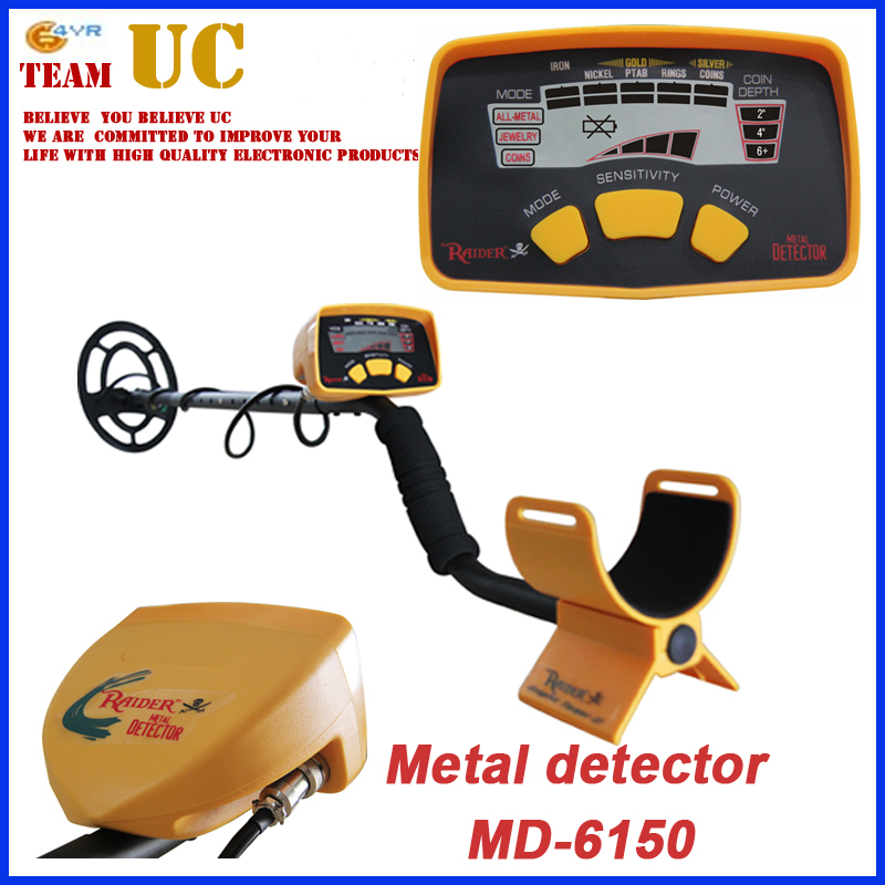 Gold Digger Treasure Hunter MD-6150 Metal Detector Target ID Legend All Metal Zero Jewelry Coins detector  цены
