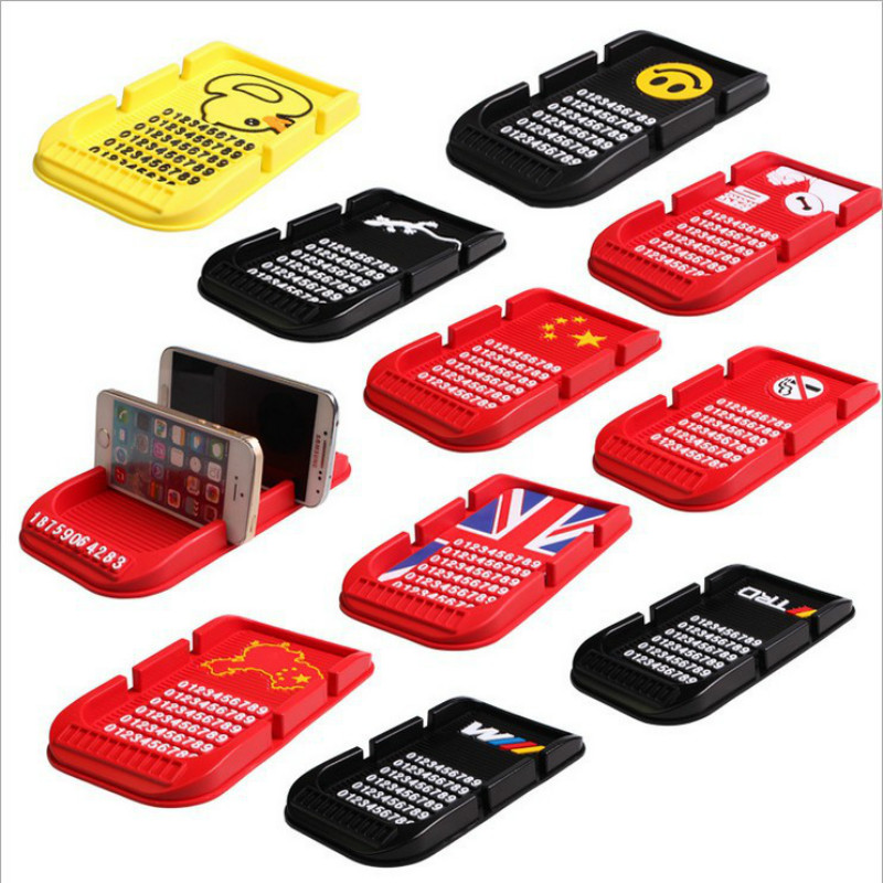 New Fashion Car Dashboard Sticky Pad Mat Anti Non Slip Gadget Mobile Phone GPS Holder Stand Phone Interior Accessories