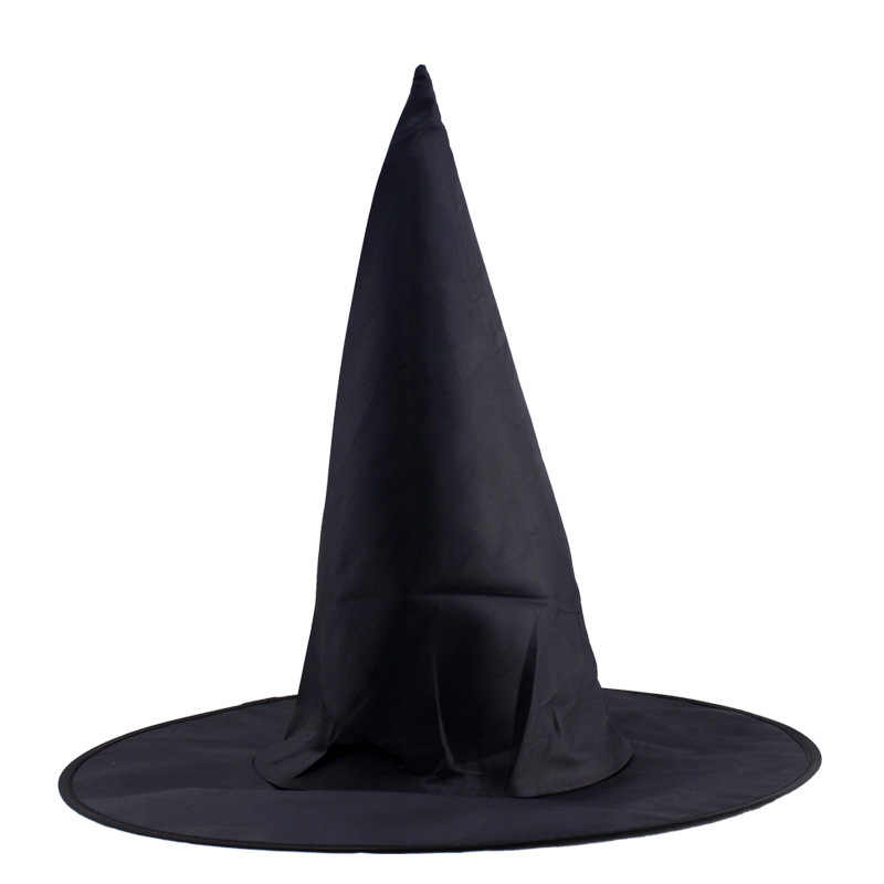 Steeple Magic Hat Promozione Freddo Adulto Donne Halloween Strega Nera Cappello Oxford Festa in Costume Puntelli Harry Ceramisti Cap All'ingrosso