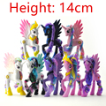 1 pcs  Princess Luna Celestia action figures toy horses Unicorn plush doll for my kid Christmas Gifts
