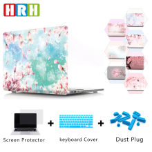 HRH Japanese cherry blossom Hard Plastic Case PC Shell Protective Laptop Sleeve for Macbook Air Pro Retina 11 13 12 15 Touch Bar