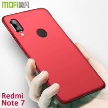 redmi note7 case cover fundas hard back Mofi original pc for xiaomi note 7 plain