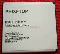 PHIXFTOP Origianl Battery Or Fake For Xenium W732 W6500 W832 Cellphone AB2400AWMC For PHILIPS CTW6500 CTW732