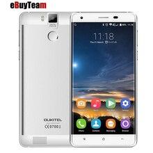 Original K6000 Oukitel PRO Android 6.0 5.5 Pulgadas FHD Móvil MTK6753 teléfono Octa Core 3 GB + 32 GB Huella Digital 16MP FDD LTE 4G 6000 mAh