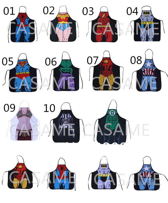 Hearty Wholesale Novelty Funny Cooking Aprons Star Wars Darth Vader Character Costume Cosplay Party Apron Gift Men Women Dhl Fedex Free Aprons Home & Garden