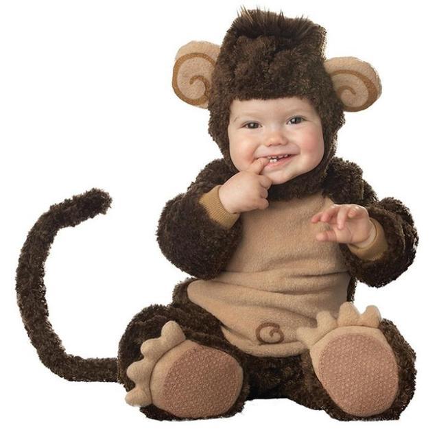 Lilu0027 Monkey Infant/Toddler Halloween costume Baby Romper jumpsuit Animal cosplay onesie suit  sc 1 st  AliExpress.com & Lilu0027 Monkey Infant/Toddler Halloween costume Baby Romper jumpsuit ...