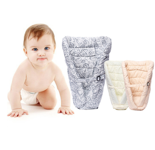 100% cotton Baby Receiving Blankets newborn swadding soft wrap blankets Baby carrier Infant Insert Cushion Baby Carriage Insert