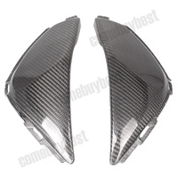 For Honda CBR1000RR CBR 1000 RR Tank Side Cover Panels Fairing 2008 2009 2010 2011 Carbon Fiber Black 2PCS Motorcycle Parts