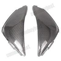 For Honda CBR1000RR CBR 1000 RR Tank Side Cover Panels Fairing 2008 2009 2010 2011 Carbon Fiber Black 2PCS Motorcycle Parts