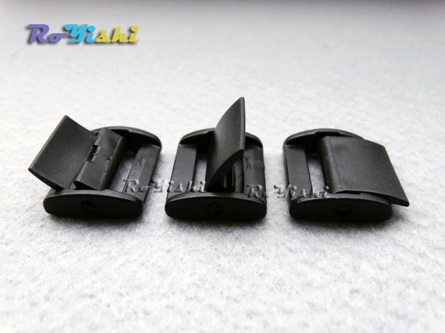 100pcs 3 4 Quot 20mm Plastic Press Belt Adjust Buckles Toggle