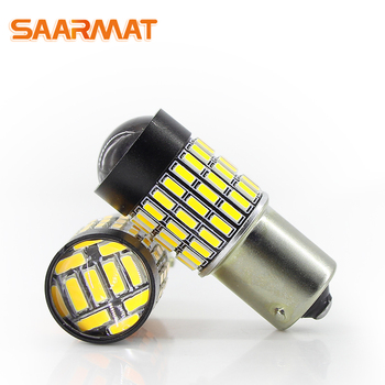 Wholesale(10 pieces) LED 1156 P21W ba15s bulbs 72smd 1500lm for Car Reverse Brake Back-up Daytime Running Turn Signal taillight