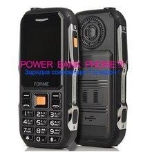 Power Bank мобильный телефон! большая кнопка, большой голос, классический барный телефон, пылезащитный Ударопрочный сотовый телефон, лучше, чем камень v3 no1 a9