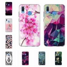 For Huawei Honor Play Case Soft TPU Silicone COR-AL00 COR-AL10 Cover Tower Patterned Shell Capa