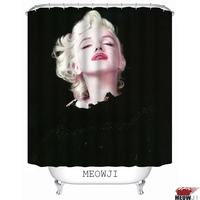 Sexy Goddess Superstar Beauty Marilyn Monroe Vintage custom Shower Curtain Bathroom decor various sizes Free Shipping