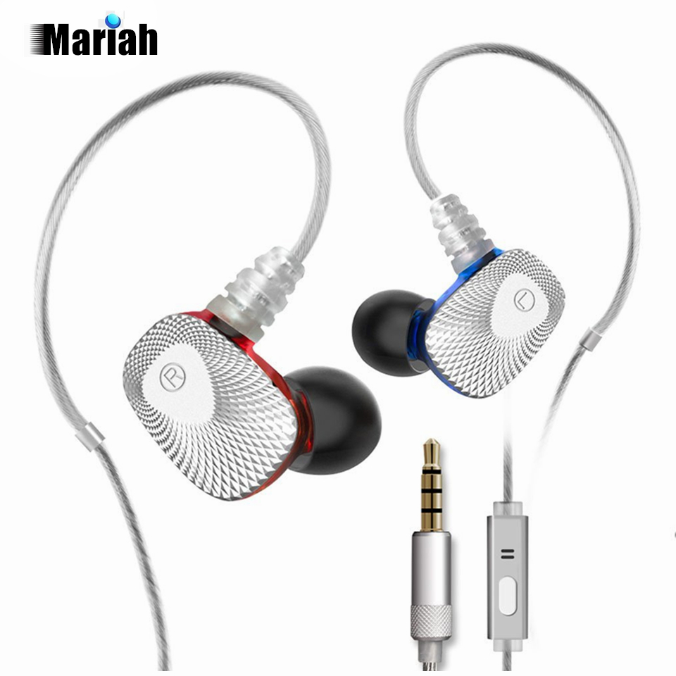 mifo R1 Dynamic Stereo Earphones Super Bass In-Ear Earphone with Micro Hands Free Calling HiFi Sport Earbuds Micphone for iphone 2017 new six dynamic bass ear hifi earbuds earphone for mobile phone universal yinjw p8 magic song