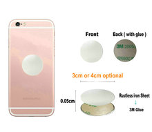Metal Plate disk iron sheet for Magnet Mobile Phone Holder For Magnetic Car Stand holders 1PCS
