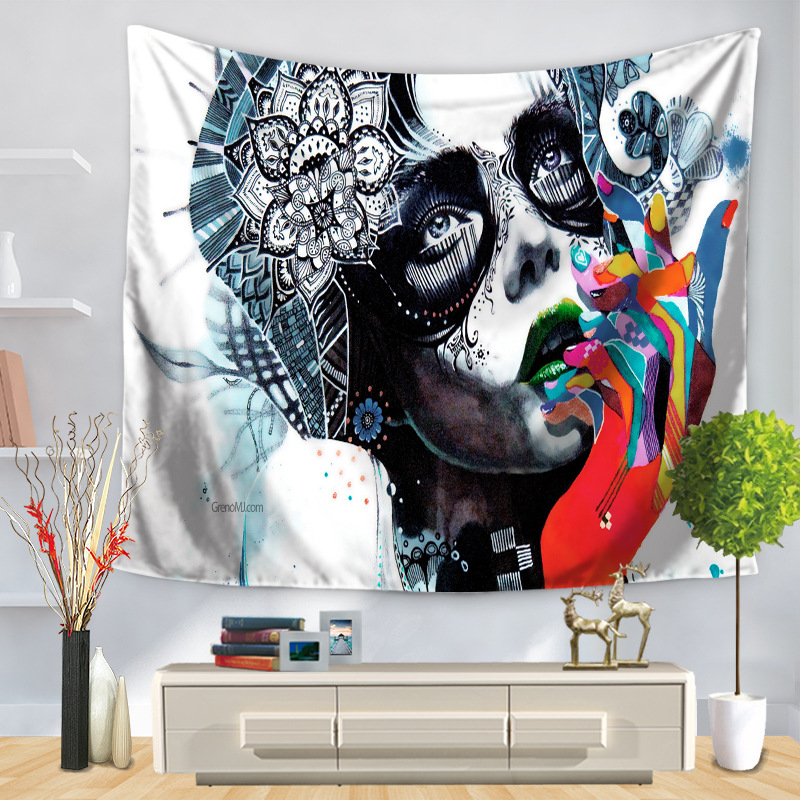 Free Shipping New India Mandala Tapestry Wall Hanging Exotic Wind Printing Home Tapestry Wall Beach <font><b>Towel</b></font> Blanket 150*200cm