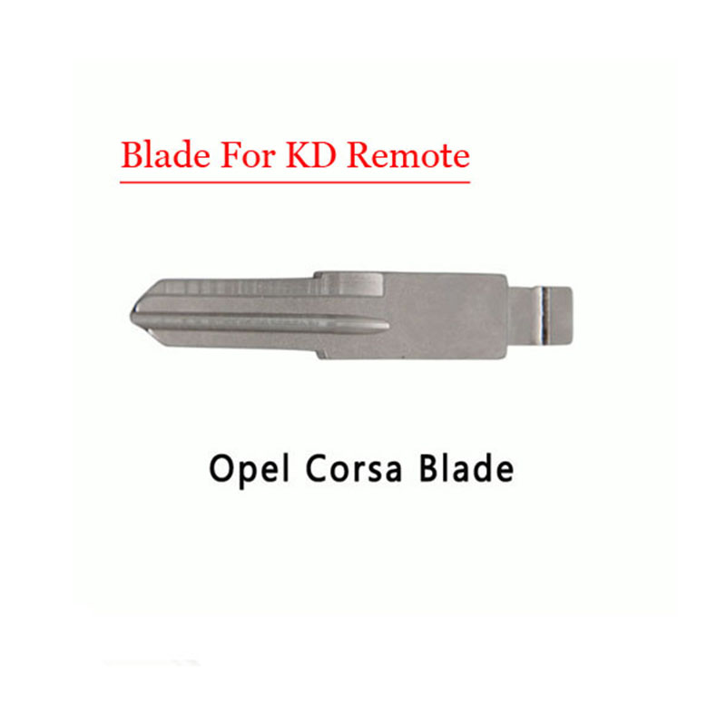 Free shipping (10 pcs/lot)Metal Blank Uncut Flip KD Remote Key Blade Type for Opel Corsa free shipping transponder key blank hu43 blade for tpx chip for opel 10piece lot