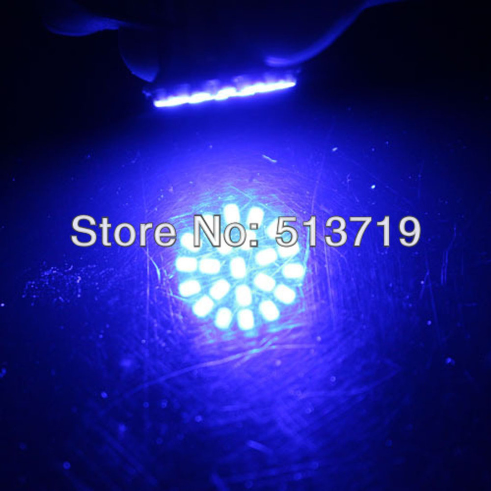 Dongzhen 1PCS T20 W21 / 5W 7443 22 1206 SMD LED Luz de freio - Faróis do carro - Foto 2