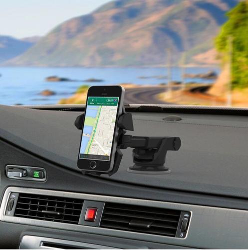 Universal de 360 grados Car Mount holder parabrisas Dashboard ventosa soporte para teléfono móvil soporte para el iPhone Samsung xiaomi redmi