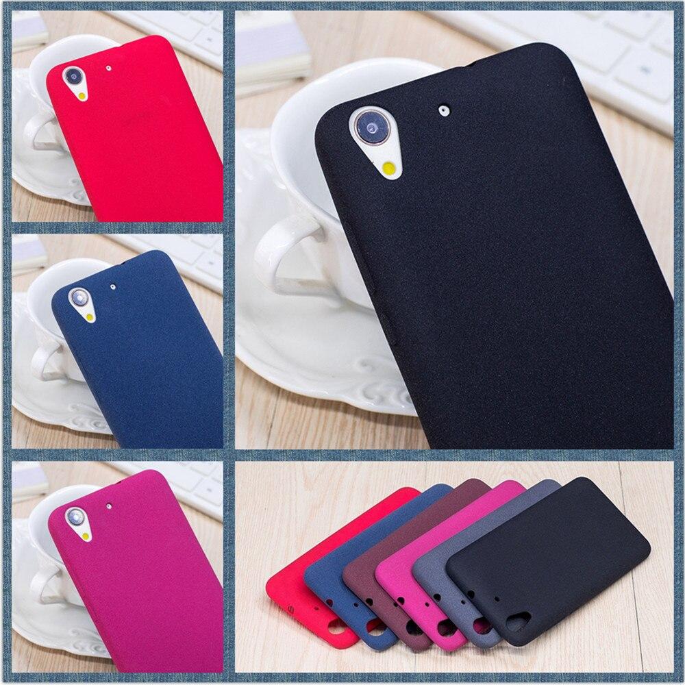 For Huawei Y6ii Matte Antiskid And Sweatproof Case For Huawei Y6 II CAM-L23 Y6ii CAM-L21/L32 Y6 2 CAM-L03 Back Cover Fundas Capa
