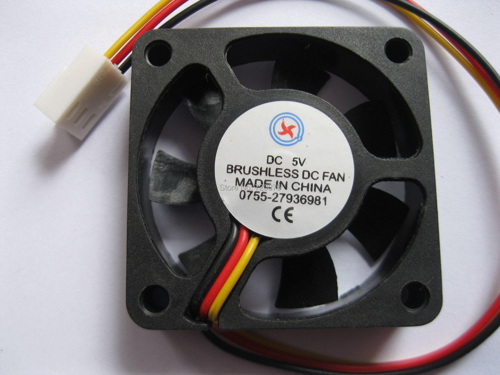 1pc 45x45x10mm 45mm 4510 7 blades 24V 2pin Connector Brushless DC Cooling Fan