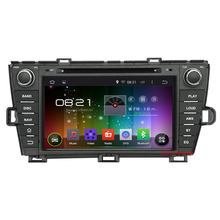1024×600 Quad Core Android 4.4 Car DVD Player for Toyota Prius 2009-2012 with GPS Built-in DVR, Support OBD Mirror Link SWC