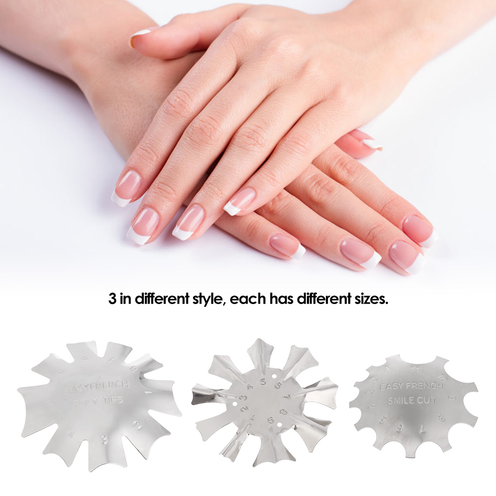 Nail Art Tools Simple: Nail Art Manicure Edge Trimmer Nail Cutter Clipper Styling