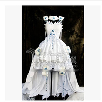 Customize Clamp Chobits Chii Cosplay Lolita Gorgeous Costume Dress New Any Size