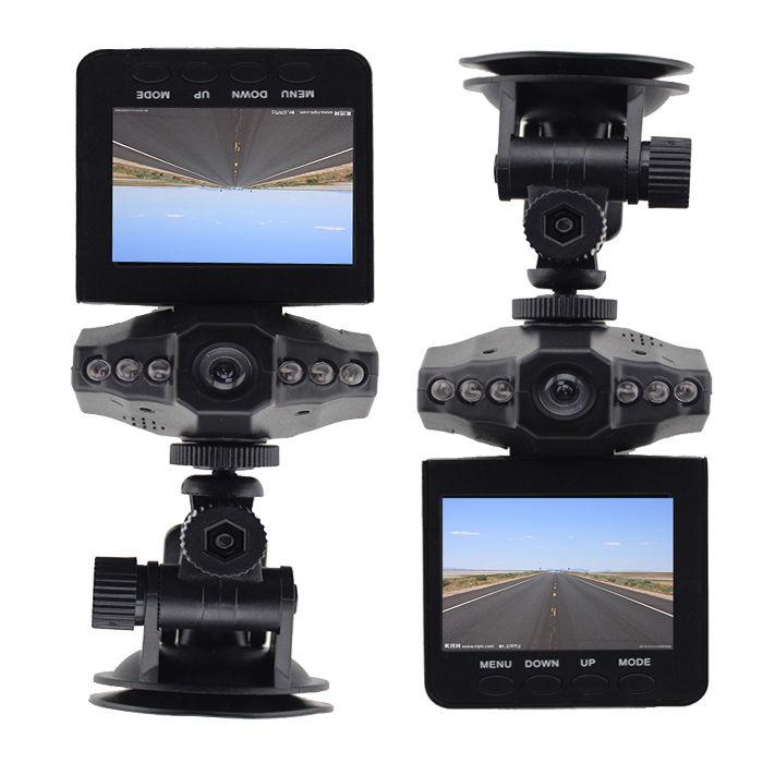 2,5 INCH Barva LED IR Car DVR TFT noční vidění 270 Auto palubní kamera Videorekordér