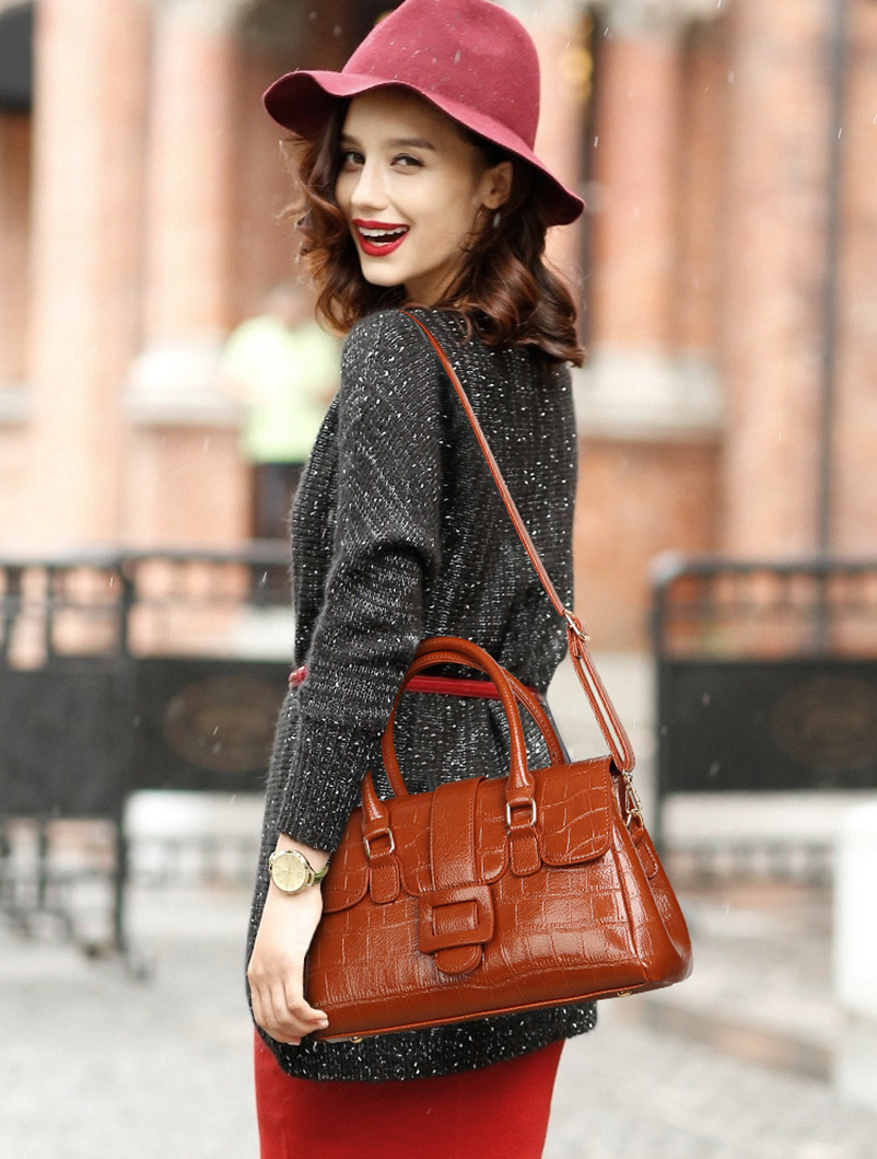 Nevenka Women Luxury handbag Female Leather Shoulder Bags Ladies Vintage Crossbody Bag04