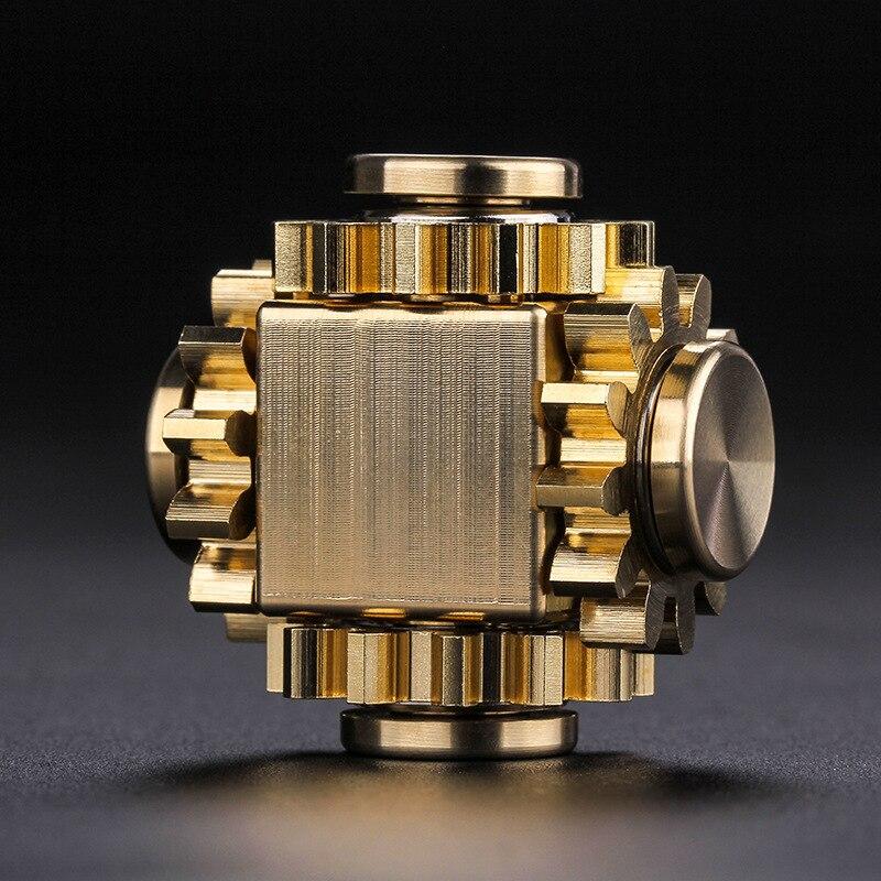 Ant Fidget Spinner Hand Spinner Spinner Ring Metal Gyro Gear Linkage Bearing Edc Finger Screw Fidget Toy