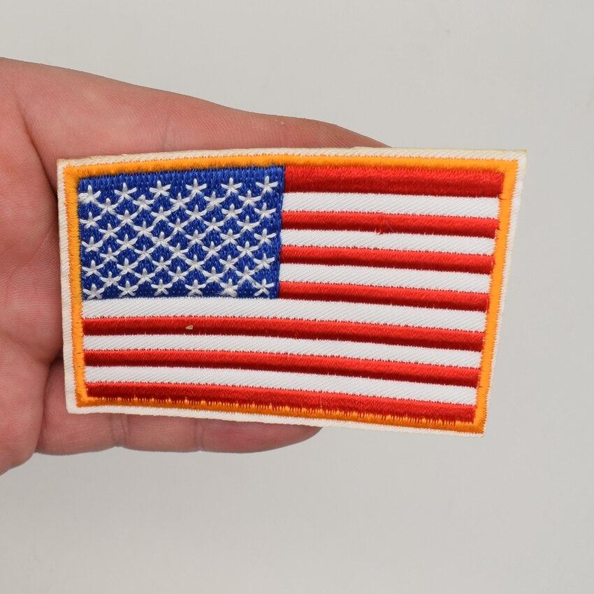O 3 x 152 4 cm bendera amerika serikat as kami dijahit garis bordir bintang  Kuningan d2f848a0a3