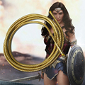 Супергероя женщина лассо правда, принцесса Диана, Косплэй Опора веревка из полиуретана 6 мм фильм аксессуары