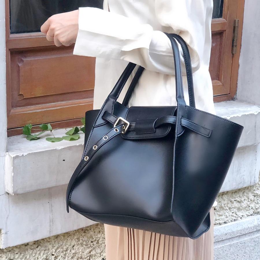 Bat Wings Women Handbag Top-Handle Women Shoulder Bag PU Leather Females Casual Tote Big Ladies Bag Fashion