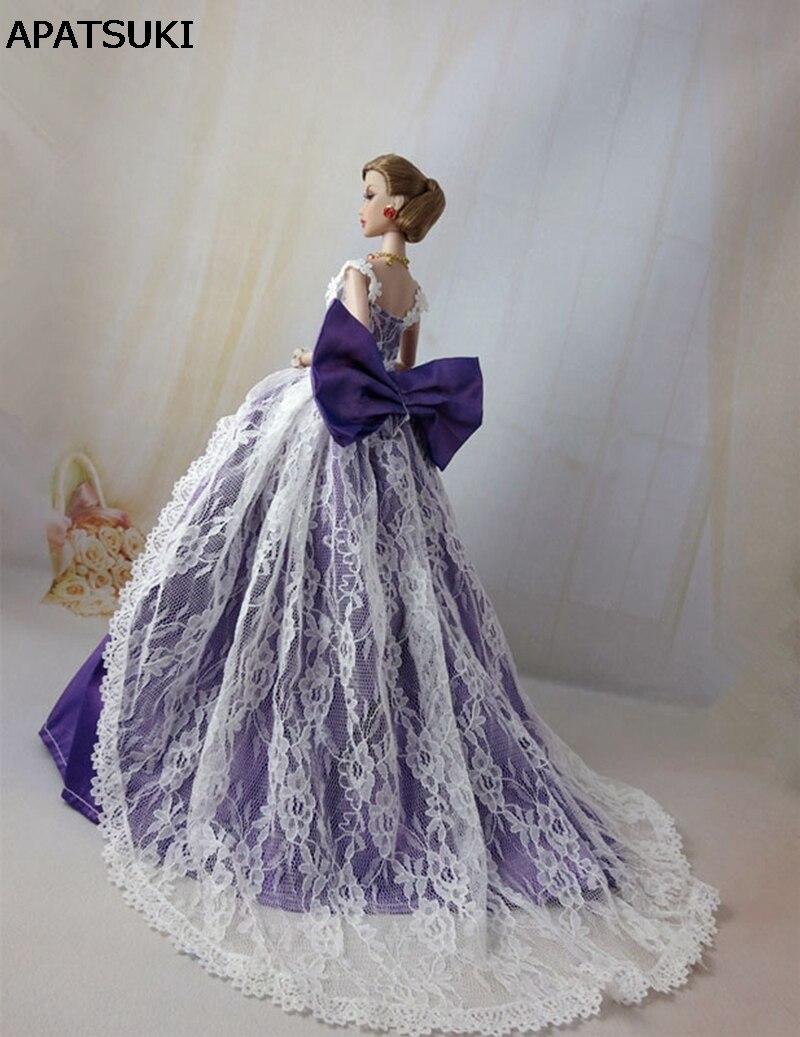 Vestido de novia para barbie princesa