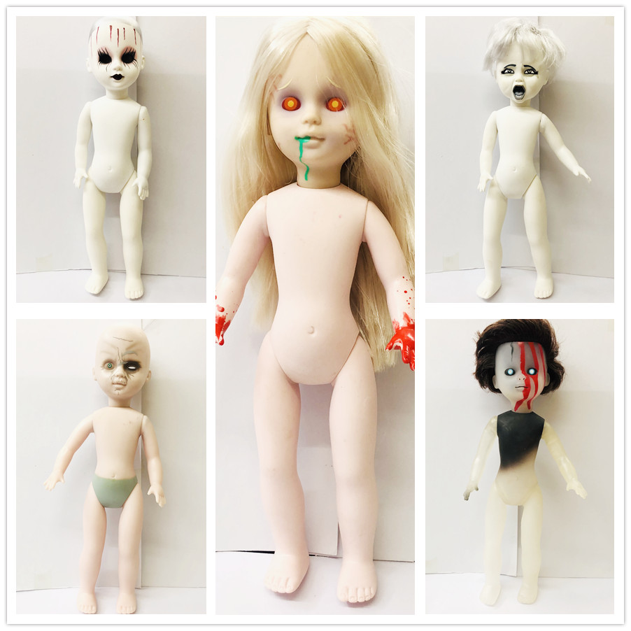 new 26cm Scary chucky doll Toys Horror Movies Child's Play Bride of Chucky Horror Doll toy image