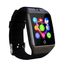 Nuevo Q18 Q18S Bluetooth Reloj Teléfono Inteligente con Cámara TF Ranura de la Tarjeta SIM para IOS Android Smartphone Huawei Samsung Xiaomi