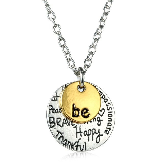 Gold necklace pendants letter personalized necklace love pendant gold necklace pendants letter personalized necklace love pendant punk custom necklace initial necklace jewelry for women aloadofball Images