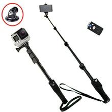 Yunteng 1288 Phone Gopro Hero4/3/2 SJCAM Camera Selfie Stick Bluetooth Self-portrait Monopod Self-Timer Pole For Iphone Samsung