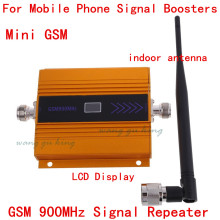 Newest LCD display Cell phone MINI GSM repeater signal booster MOBILE signal repeater mobile signal amplifier