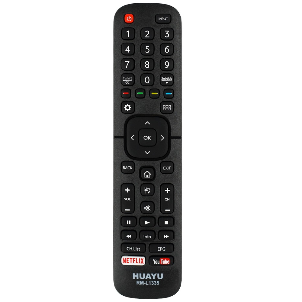 US $2 99 |Universal remote control RM L1335 suitable for hisense LCD Smart  TV EN2B27 ER 31607R EN 21662 EN 31907 EN2S27D controller huayu-in Remote