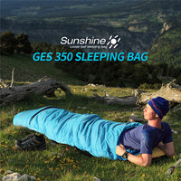 Naturehike Naturehike Ultralight Mummy Sleeping Bag Camping Goose Down Waterproof Adult Portable Outdoor Hiking Cotton NH17G350