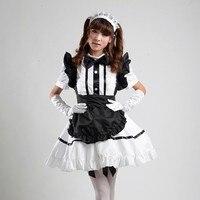 Lolita Sexy Dress Japanese Lolita Maid Dress Waitress Costumes Anime Cosplay Halloween Costume Fancy Dress