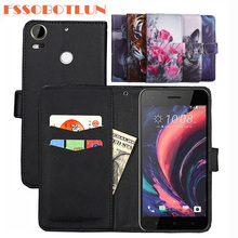 FSSOBOTLUN 9 Kleuren Voor HTC Desire 10 pro Case 5.5 inch PU Lederen Retro Flip Cover Magnetische Mode Portemonnee Gevallen Kickstand Strap