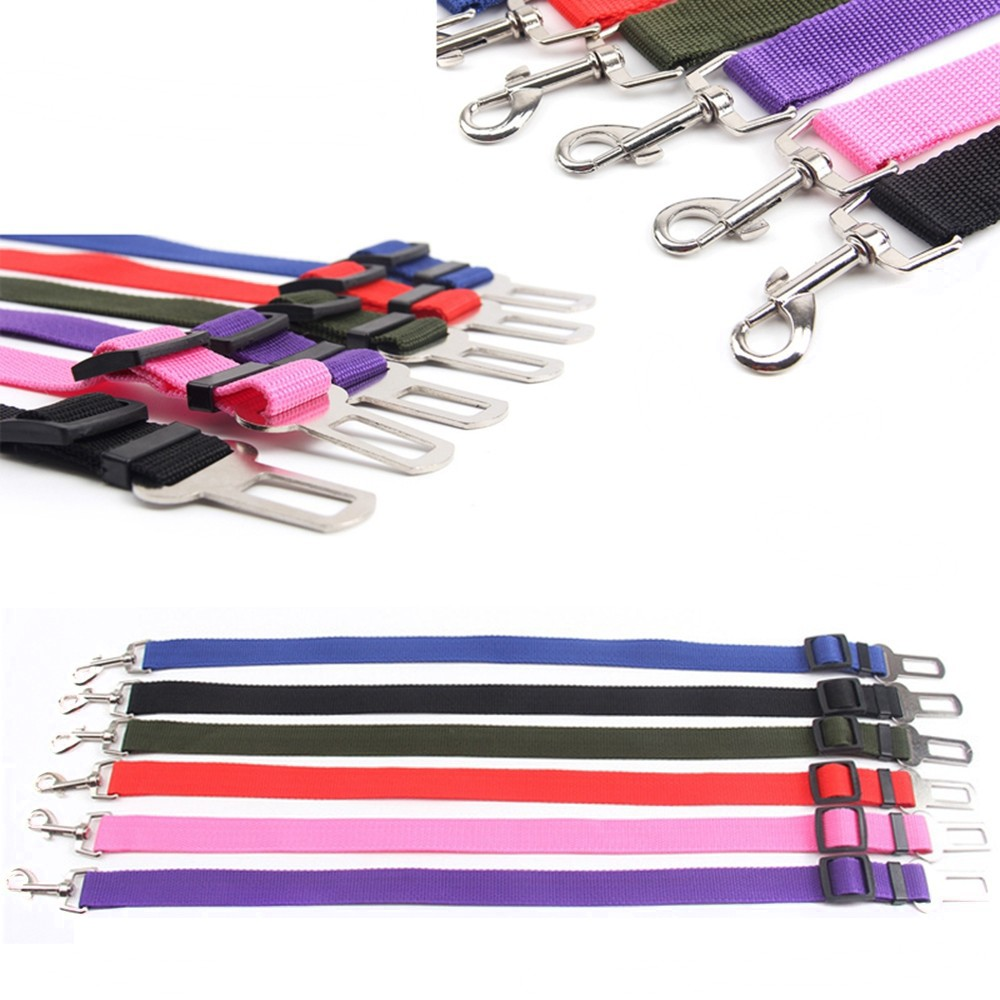 Newest!!!  Pet/dog Car Travel Safety Seat Belt Clip Lead Adjustable Safety Harness Auto Traction #4