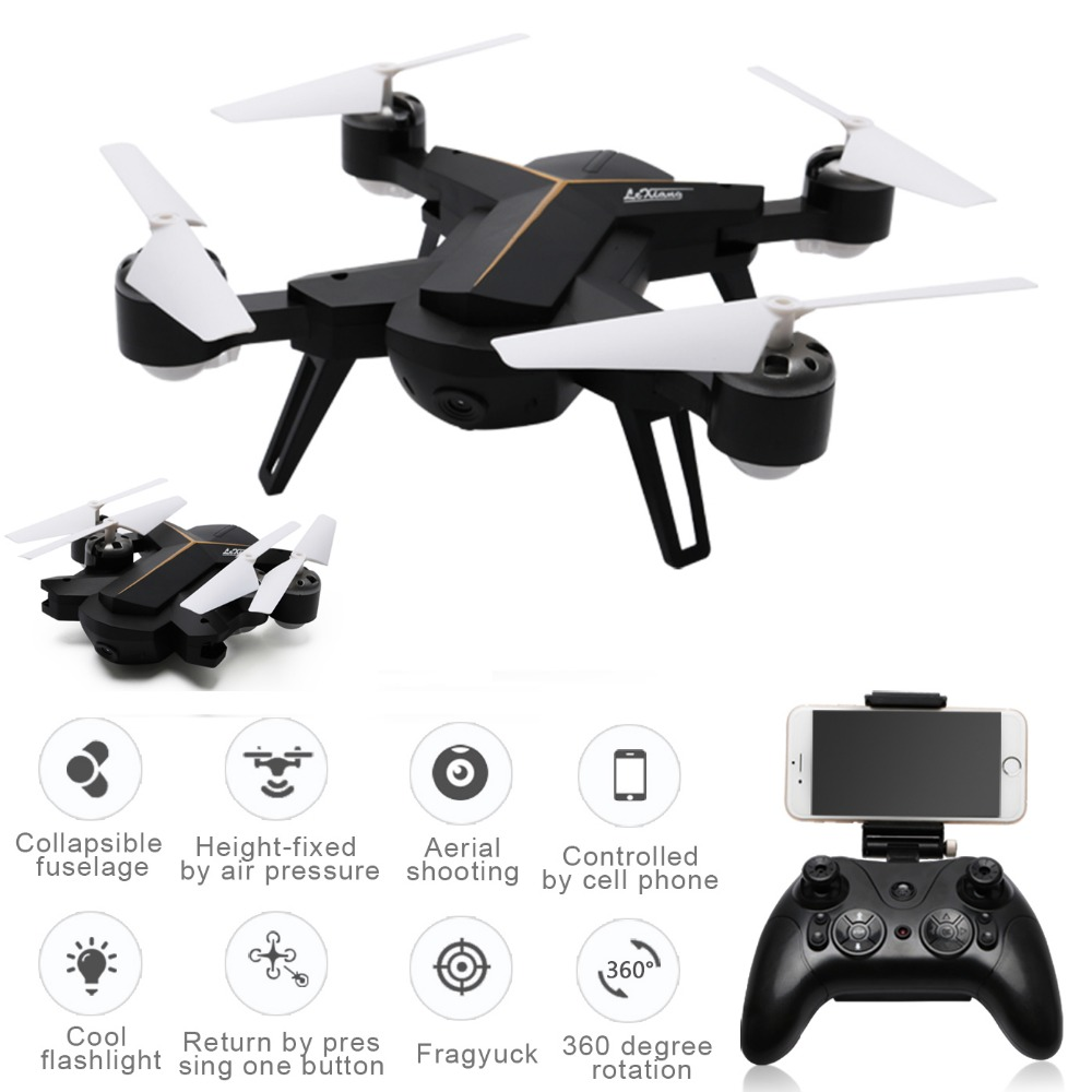 LeXiang 803 Mini Drone With Camera 2.4G 6-Axis RC Helicopter Headless WiFi FPV Dron Altitude Hold Quadcopter Foldable RC Drones